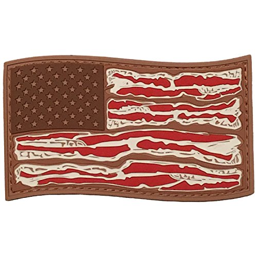 American Bacon Flag - PVC Morale Patch