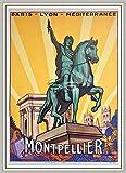 PostersAndCo TM Montpellier Rnsa Poster / Kunstdruck 40 x