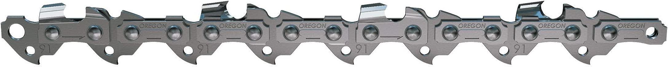 Oregon 91PX052G 52 Drive Link Chamfer Chisel Xtra Guard 3/8-Inch Pitch Low Kickback Saw Chain
