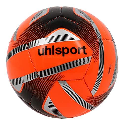 uhlsport Unisex– Erwachsene Team-Mini Vpe Fussball, Fluo orange/schwarz/silbe, NOSIZE