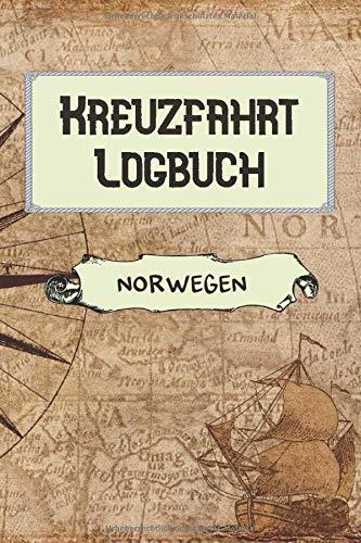 Kreuzfahrt Logbuch Norwegen: A5 Reisetagebuch für eine Kreuzfahrt nach Norwegen | Tagebuch für deinen Urlaub auf dem Schiff & der See | Reiselogbuch ... | Kreuzfahrttagebuch | Reiseführer