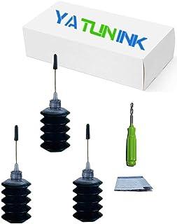YATUNINK Premium Refill Ink Kit Replacement for HP 902XL (3 x 30 ml Black)