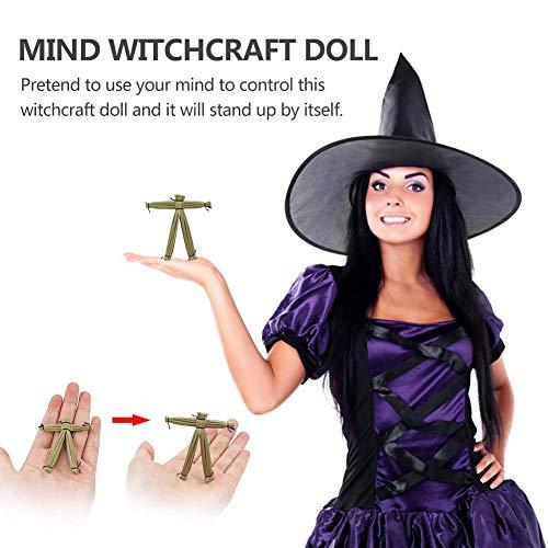 wonderday Voodoo Puppe Halloween Horror Magie Requisiten Hexerei Vogelscheuche Kinderspielzeug