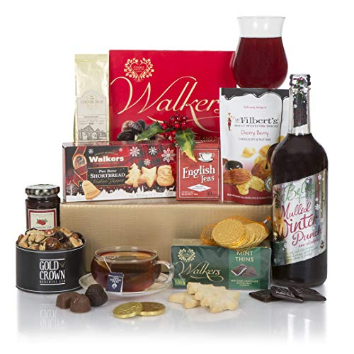 Christmas Alcohol Free Favourites Hamper - Food & Drink Christmas Hampers - Full of Xmas Food Treats All The Family Will Love - Non Alcoholic Drinks