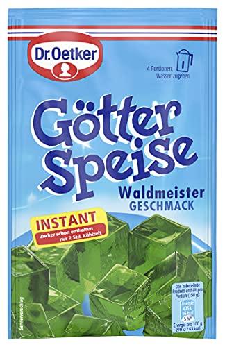 Dr. Oetker Götterspeise Instant Waldmeister, 8er Pack (8 x 100 g)
