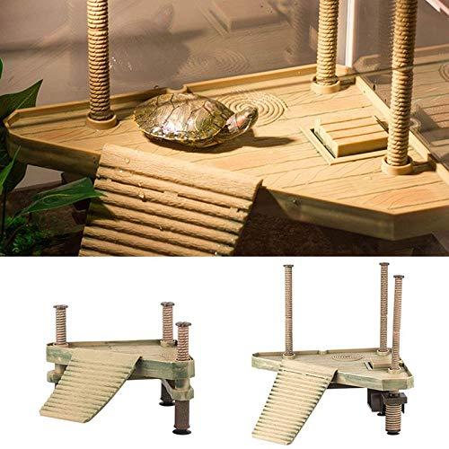 Outbit Aalen Plattform - 1 PC Reptile Turtle Frog Floating Platform, Aalen Plattform für Aquarium, Tankzubehör (S M) (Größe : S)
