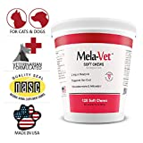 HEALTHY PETS MelaVet Melatonin Soft Chews for Dogs Cats (120 Count)