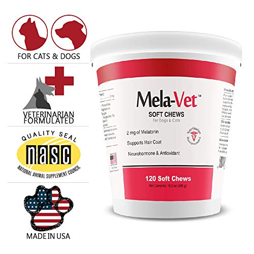 Healthy Pets Mela-Vet Melatonin Soft Chews