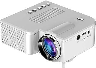 Fercisi Proyector LED portátil, pequeño, 1080P Multimedia,