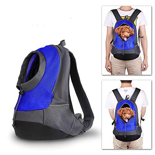 Haustier-Rucksack mit Hohe Qualität weich und atmungsaktiv Transportrucksack Portable Pet Bag für Haustiere Katze Hund