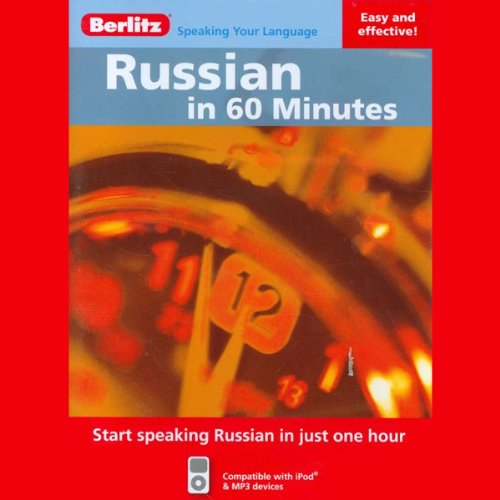 Russian in 60 Minutes audiobook cover art