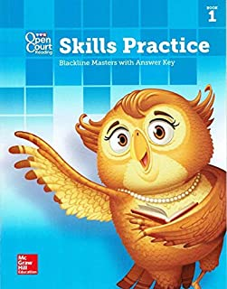 SRA Open Court Reading, Skills Practice, Blackline Masters with Answer Key, Grade 3, Book 1, 9780021461295, 0021461295, 2016
