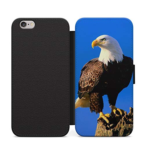 Eagle Bird Flying Drawing USA Flag Patriot Phone Case Wallet Cover For Motorola G5