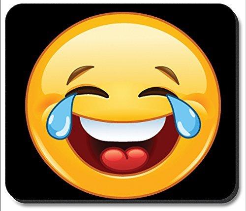 Mauspad - Lachen, bis Sie Emoji weinen