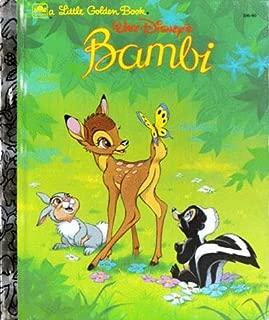 Walt Disney's Bambi (A Little Golden Book)
