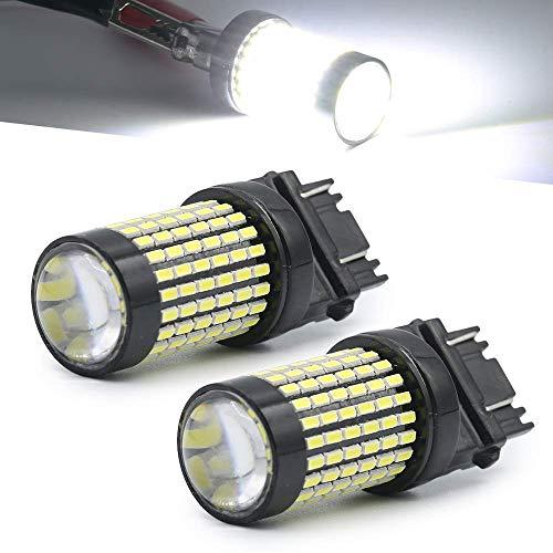 3157/7443/1157/1156ámbar/blanco/rojo 50W 3014chip de alta potencia proyector de LED Turn Signal/freno/cola/Reverse/Aparcamiento Bombillas, Blanco