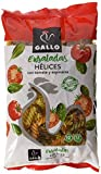 Gallo - Pasta Helices Vegetales - Paquete 250 grs