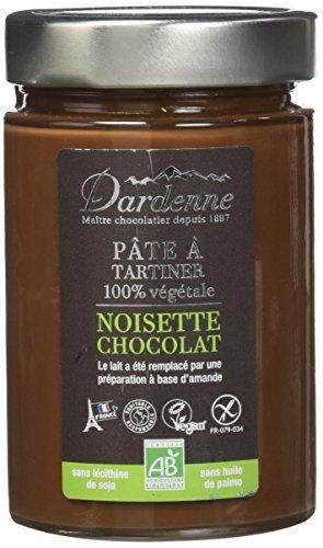 Dardenne Pâte à Tartiner Noisettes Chocolat Bio 100% Végétal 300 g