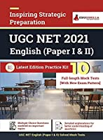 UGC NET English 2021 10 Full-length Mock Test (Paper I & II) With Latest Exam Pattern