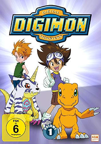 Digimon Adventure 01 (Volume 1: Episode 01-18) [3 DVDs]