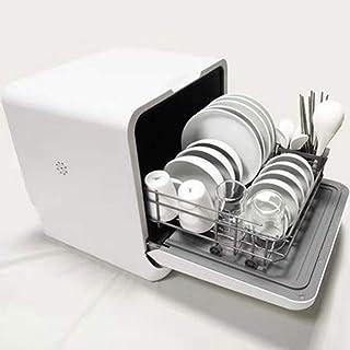 Lavavajillas hogar, Totalmente de Entrada de Agua de Modo Dual automática Instalación-Libre, encimera Vertical Inteligente microbiana Desinfección Lavavajillas