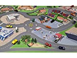 Stadt/City/Auto/Straße Möbelfolie/Aufkleber - LCK05 - passgenau für den Lack Couchtisch (90 x 55 cm) von IKEA - In wenigen Minuten zum einzigartigen Spieltisch für Kinder! (Möbel Nicht inklusive) - 4