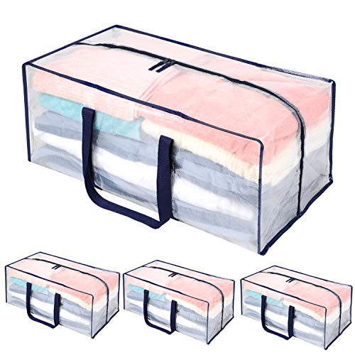 4pcs Heavy Duty Extra Large Storage