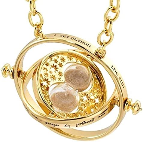 Bodytrend Hermione Time Turner Necklace Wizardry Falcon Horcrux Hourglass Pendant product image