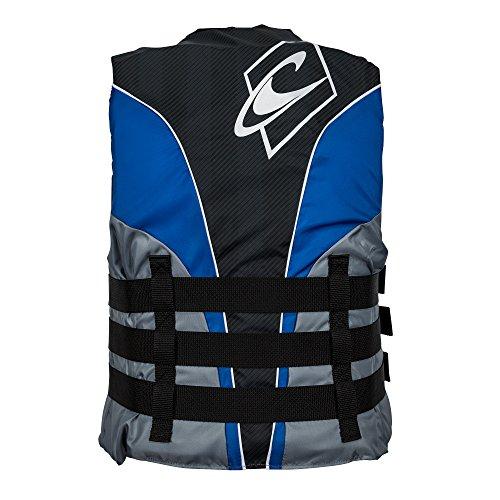 O'Neill  Men's Superlite USCG Life Vest, Pacific/Smoke/Black/White,X-Large