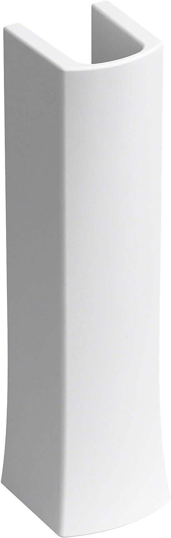 shop Kohler K-24052-0 Kelston Pedestal Gorgeous White Base Sink