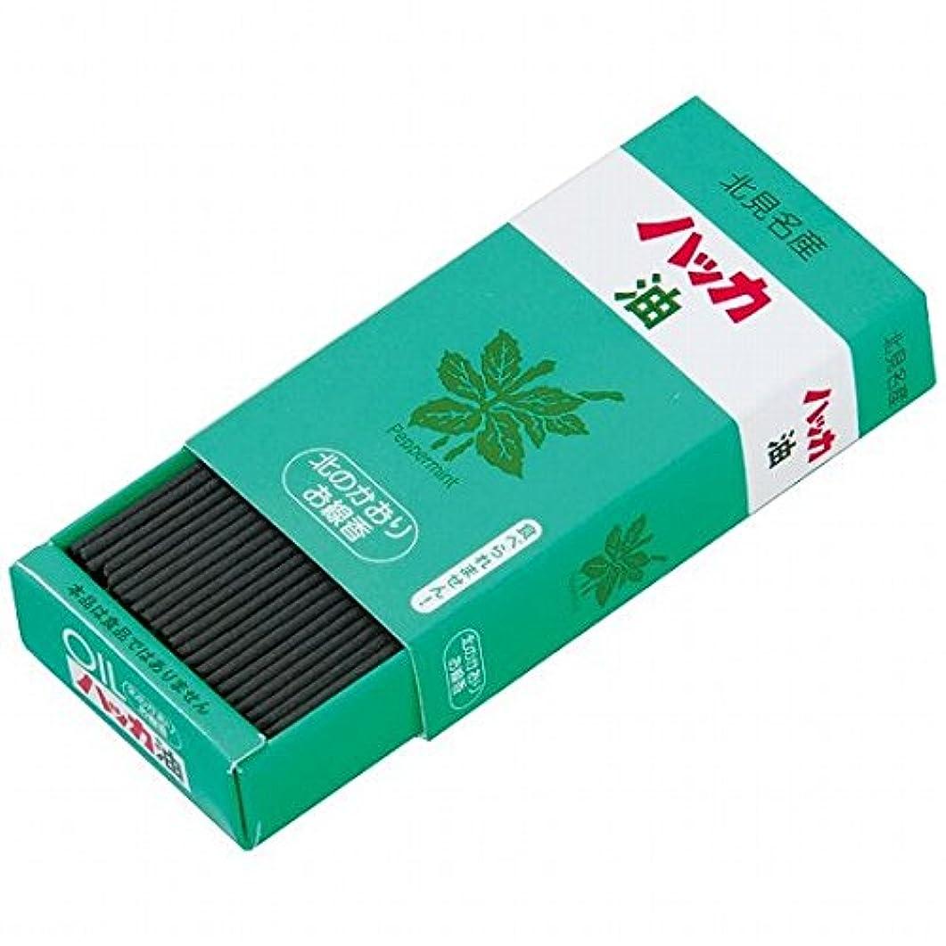 専制謝罪災難カメヤマキャンドル(kameyama candle) 北のかおりハッカ油 ミニ寸線香 6個セット