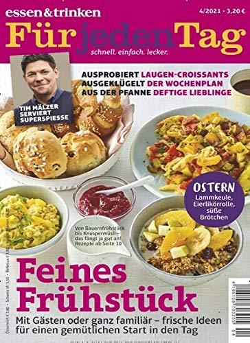 """Essen & Trinken für jeden Tag 4/2021 """"Feines Frühstück"""""""