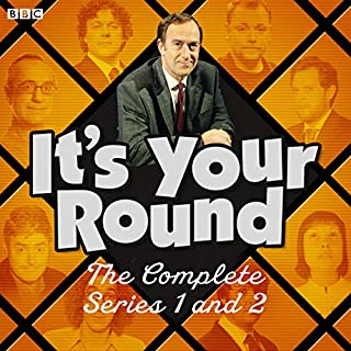 It's Your Round: The Complete Series 1 and 2     The BBC Radio 4 Comedy Panel Show              By:                                                                                                                                 Angus Deayton,                                                                                        Paul Powell,                                                                                        Benjamin Partridge                               Narrated by:                                                                                                                                 Angus Deayton                      Length: 5 hrs and 34 mins     6 ratings     Overall 4.5