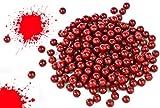 Nerd Clear 1000 Soft-Air Paintballs Farb-Kugeln Munition Kugeln rot 6mm Spielzeug-Pistolen und...