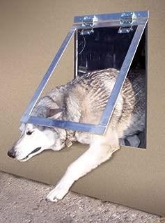 Big Dog Door (clear flap) (28H x 18W x 1D) by Gun Dog