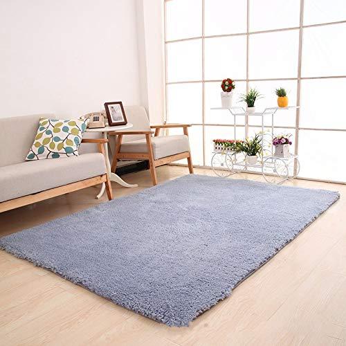 NoNo Hauptdekoration Teppich Moderne plüsch Teppich kann als matratze pad sofakissen blau 60 * 160 cm