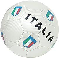 Cucuba® PALLONE DA CALCIO ITALIA CON STEMMI DELLA FEDERAZIONE ITALIANA GIUOCO CALCIO TAGLIA 5 – IDEA REGALO