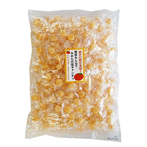 ふみこ農園 夏バテ 熱中症対策 みかんの塩キャンディ 業務用大袋1kg