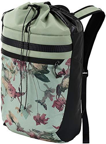 Nitro Fuse Rucksack leichter modischer Daypack exklusiver Side &Toploader in Gymbag Optik, Dead Flower, 44x29x20cm / 24L