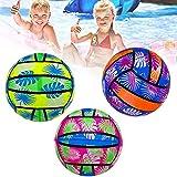 Syina 1 pelota de voleibol de playa portátil para niños, juguete duradero para fiestas y deportes al aire libre, color aleatorio