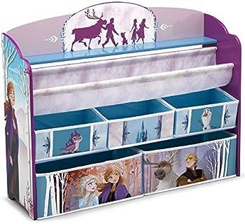 Delta Children Frozen II Deluxe Toy and Book Organizer
