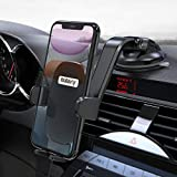 """Nulaxy Phone Holder for Car, No Obstruction View Dashboard Windshield Car Phone Mount Strong Suction with Extra Gel Pad for iPhone 11 Pro Max/11/XS Max, Galaxy S10, Google Pixel 3 XL Other 4.7''- 6.5"""""""