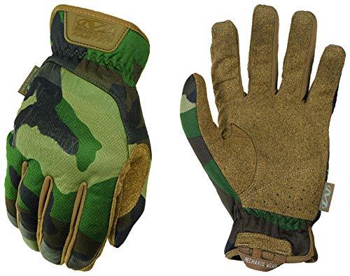 Mechanix Wear FFTAB-77-009 FastFit Camo Handschuhe (Medium, Woodland Camouflage) Einsatzhandschuhe