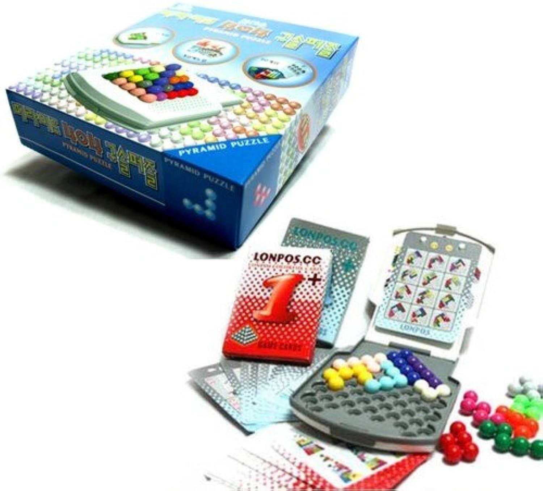 en linea 3d Puzzle - Pyramid 404 bead bead bead Puzzle  servicio considerado