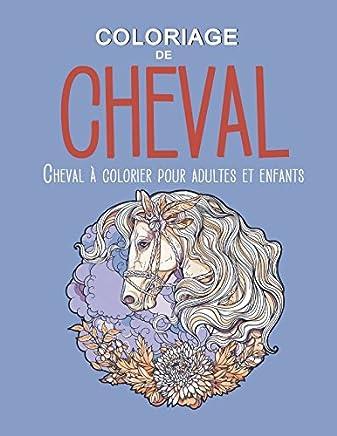 Coloriage Cheval Pour Adulte.Amazon Fr Coloriage Chevaux