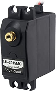 LewanSoul Hiwonder LD-3015MG Standard Full Metal Gear Digital Servo with 17kg High Torque for RC Robot Car(Control Angle 270)