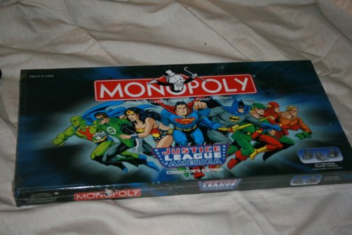 Monopoly - Justice League of America Collector's Edition by Hasbro