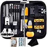 Watch Repair Kit, Anezus 187Pcs Watch Tool Kit with Watch Link Pin Remover