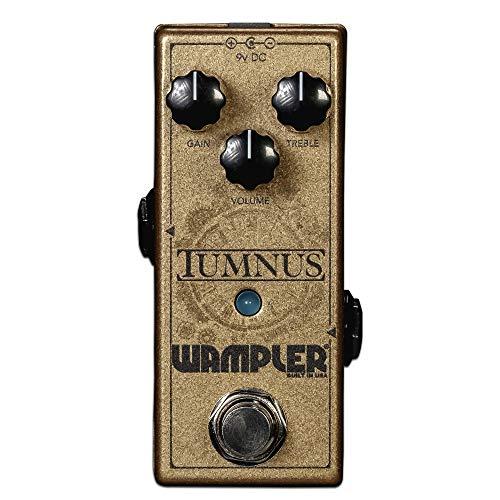 Wampler Pedal de efeitos de guitarra Tumnus V2 Overdrive & Boost