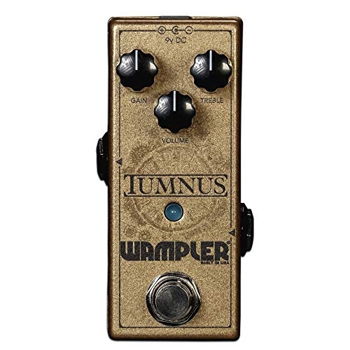Wampler Tumnus V2 Overdrive & Boost Guitar Effects Pedal